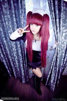 Kisara as Riruka Dokugamine from Bleach Bleach Cosplay, Gloves, Punk, Leather, Style, Fashion, Swag, Moda, Fashion Styles