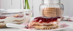 Γλυκό ψυγείου με μπισκότα και γιαούρτι (VIDEO) - madameginger.com