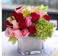 Solteiras Noivas Casadas: Decoração do Casamento: Verde e Rosa