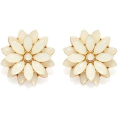 Forever 21 Faux Gem Flower Studs ($7.90) ❤ liked on Polyvore featuring jewelry, earrings, accessories, earrings studs, post earrings, studded jewelry, fake earrings, imitation jewellery and artificial jewelry