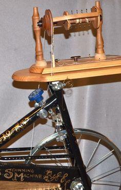 exercise bike spinning wheel!