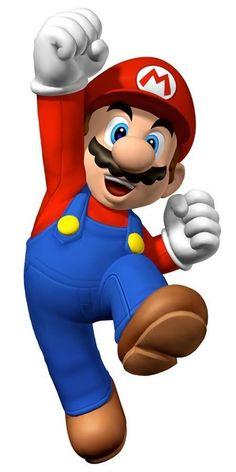 Clipart personagens Mario