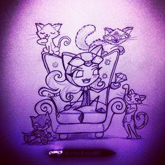 Cats and Diamonds Catwoman, Fallout Vault, Marvel, Cats, Diamonds, Fictional Characters, Gatos, Cat, Diamond