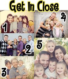 I want a picture like #4 in this years family photos  (By the way this is the JACKPOT of all posts for family posing ideas)