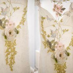 Details: Claire Pettibone 'Papillion' wedding dress photographed at Serendipity brides' trunk show last week http://www.clairepettibone.com/bridal/?cp=gowns/papillion