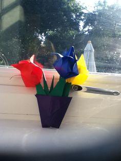 my oragami tulips