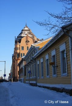 Winter @ Vaasa. www.visitvaasa.fi. Photo: Tiina Salonen