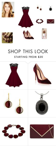 """""""Serene Phillips #9"""" by serafinacrescent299 ❤ liked on Polyvore featuring Gianvito Rossi, Syna, NOVICA, Annoushka, ALDO and Casetify"""