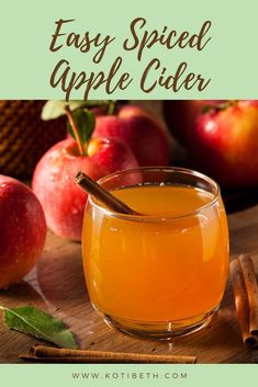 Easy Hot Apple Cider Recipe Crock Pot or StoveHow to make a simple hot cider with spices. Make this spiced cider from scratch with the stove or a crockpot or slow cooker. Apple Cider Recipe Crock Pot, Mulled Cider Recipe, Apple Cider Drink, Mulled Apple Cider, Warm Apple Cider, Hot Apple Cider Spiked, Pot Recipe, Hot Apple Cider Recipe With Apple Juice, Apple Cider Mulling Spices Recipe