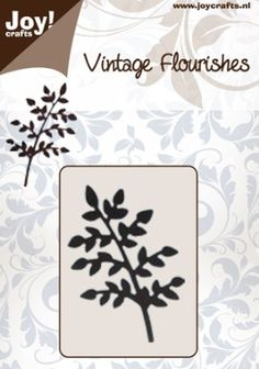 Joy Crafts - Die - Vintage Flourishes - Small Leaves on Branch,$8.49  have it
