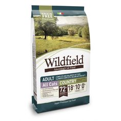 Wildfield Cat Adult Country Pork, Chicken and Eggs DORG1