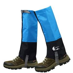 BOSSXIN Unisex Velcro Closure Leg Gaiters Oxford Cloth Waterproof Snowproof Anti-tear Leggings Cover for Hiking Walking Climbing Hunting (1 Pair) ** Learn more by visiting the image link.