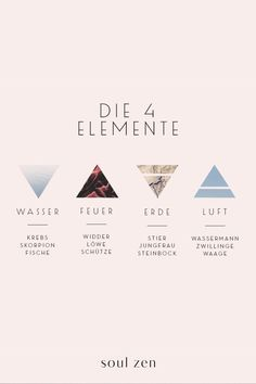 The doctrine of the four elements - Vier Elemente: Feuer, Wasser, Erde und Luft - Religion Cool Tattoos With Meaning, Love Symbol Tattoos, Symbolic Tattoos, Circle Tattoos, Tattoo Signs, Zodiac Sign Tattoos, Zodiac Signs, Element Tattoo, Tattoo Care