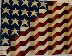 Utah Valley Quilt Guild: Patriotic Quilts  pattern was in a magazine?