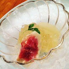 Delicious season fruits for dessert #nomz #allthenomz #ryokan #kaiseki #kyoto #nofilter #seasonalingredients #colorfulfood by ydshinto