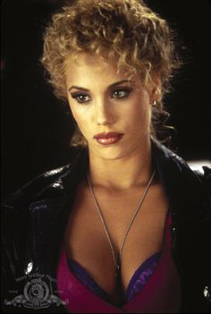 """""""Thanks. It's a Ver-sayce."""" Elizabeth Berkely as Nomi Malone in Showgirls. « Love this movie."""