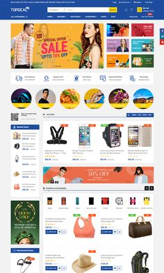 TopDeal - MarketPlace  Multi Vendor Responsive OpenCart 3 & 2.3 Theme with Mobile-Specific Layouts #Vendor, #Responsive, #OpenCart, #TopDeal