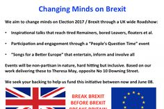 Changing Minds on Brexit by Peter Cook - GoFundMe