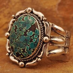 Sterling Silver handmade Turquoise cuff Bracelet