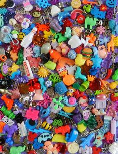 Mixed trinkets & toys for I Spy bags/bottles, classroom aids for teach – Dinky Doodads