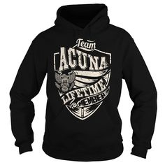 Last Name, Surname Tshirts - Team ACUNA Lifetime Member Eagle