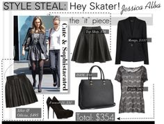"""STYLE STEAL: Hey Skater!"" by reddotdaily on Polyvore"
