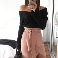 CAYA BOX Flare Sleeve Women Pullover 2017  Knitted Pullover Sweater Off Shoulder Elastic Winter Sweater Women cropped Tops-in Pullovers from Women's Clothing & Accessories on Aliexpress.com   Alibaba Group