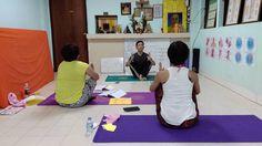 Yoga comparative anatomy 180 body postures that triggers acupressure points.   http://yogamassageschool.com/en/index.aspx