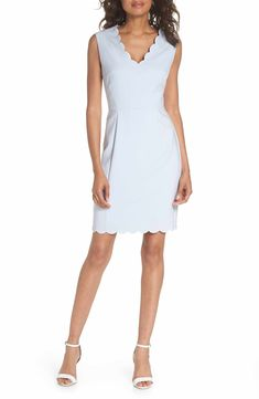 Main Image - French Connection Whisper Ruth Sheath Dress