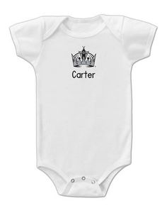 Officially licensed personalized los angeles kings robe will keep babies of all sizes can wear their personalized los angeles kings bodysuit with pride and show negle Image collections