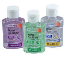 Assured Travel Size Hand Sanitizers In Assorted Scents  Ct Packs