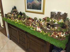 Christmas Crib Ideas, Beach Christmas, Diy Christmas Cards, Christmas Candle, Christmas Nativity, Christmas Home, Christmas Tree Decorations, Christmas Crafts, Christmas Village Display
