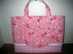 Lunch Bag ハンドメイドハートポケットレッスンバッグリバーシブル インテリア 雑貨 Handmade ¥900yen 〆10月08日