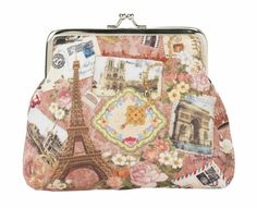 Lisbeth Dahl Rose Paris Purse | BellaKoola – bellakoola - Cool Design & Lifestyle Shop