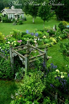 Aiken House & Gardens - I would love to see this lovely home and garden in person! Patio Pergola, Backyard, Garden Cottage, Home And Garden, The Secret Garden, Garden Spaces, Dream Garden, Garden Inspiration, Porches