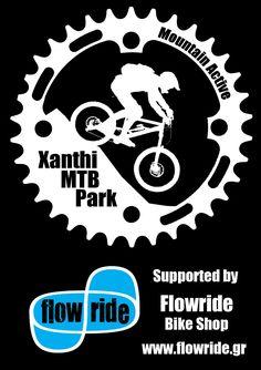 Xanthi MTB Park logo NEW 2012 flowride   Xanthi Mountain Bike Park