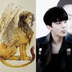 Egyptian Zodiac // Sphinx // Youngjae of B.A.P