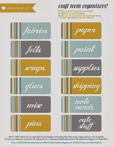 Must-Have Free Organization Printables | Elle Olive & Co.
