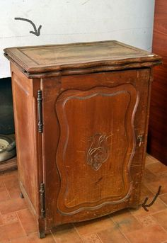 from sewing machine cabinet to charming vanity, decoupage, painted furniture, repurposing upcycling