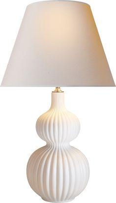"Circa Lighting Lucille Table Lamp; 18""Dia. x 31""H, 5""Dia. base; $441 list / $XXX net each"