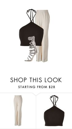 """""""Untitled #206"""" by deaja-xx ❤ liked on Polyvore featuring Jason Wu, Black and Monika Chiang"""