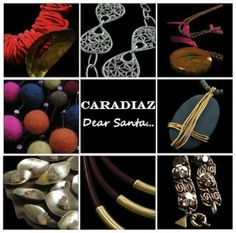 Chunky, handcrafted jewellery from Caradiaz - guaranteed to make you stand out