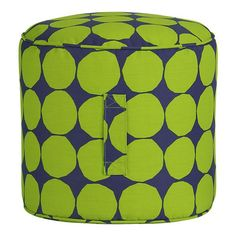 outdoor pouf!