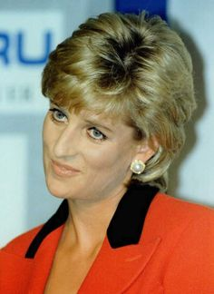 January, 1996: Princess Diana opening Childline Appeal, Savoy Hotel, London. Photo: AFP Photo Her eyes always spoke volumes