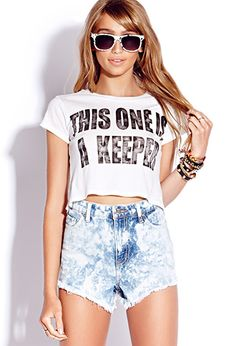 Keeper Crop Top | FOREVER21 - 2000129253