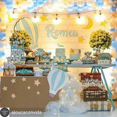 @Regranned from @aloucaconvida - Um sonho de Chá de bebê! #Repost @les_amis_festas ・・・ Lindo lindo o chá de bebê do Romeu! Apaixonante ⭐️ #lesamisfestas #festaslindas #maedemenino #chadebebe #festademenino #kidsparty #kidspartyideas #festainfantil #maternidade #festa1ano #festabaloes #balao #hotairballoon #hotairballoonparty #festabalao - #regrann