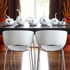 Wicked Modern Halloween Tablescape- B. Lovely Events