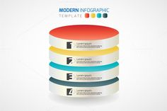 Check out Vector Modern infographics template by VL Shop on Creative Market