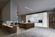Cosy Home, abitare il presente con Veneta Cucine Cosy Home, Cuisines Design, New Homes, Kitchen Cabinets, Lounge, House Design, Interior Design, Furniture, Kitchen