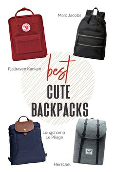 Backpacks are perfect for jetsetters because they leave your arms and hands free to move and go, an awesome addition to your capsule wardrobe. Cross airports, cities, and towns with ease and style! #TravelFashionGirl #TravelFashion #TravelAccessories #cutebackpacks #jetsetters #stylebackpacks